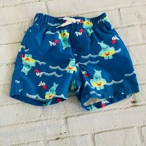 Gymboree Baby Swim Trunk Size 6-12 Months